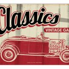 CLASSIC GARAGE METAL SIGN