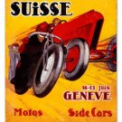 Grand Prix Suisse vintage metal sign