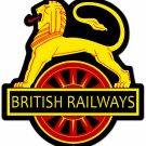 British Railways Custom Metal Sign