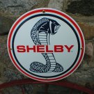 SHELBY COBRA PORCELAIN COATED SIGN