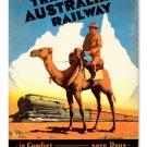 Travel Australia METAL SIGN
