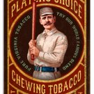 PARK DIAMOND TOBACCO HEAVY METAL SIGN