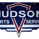 Hudson Parts Service BAKED ENAMEL SIGN