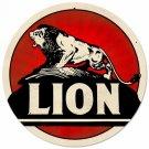 "LION LARGE METAL SIGN 28"""