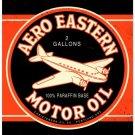 AERO EASTERN LARGE HEAVY METAL SIGN