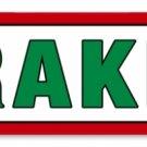TEXACO BRAKES RETRO METAL SIGN P