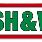 TEXACO WASH & WAX RETRO METAL SIGN P