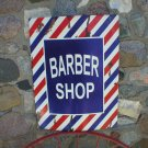 BARBER SHOP SHOP SIGN LARGE METAL OLD LOOK