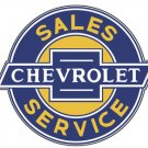 CHEVROLET SALES SERVICE GENERAL MOTORS SIGN 18""