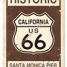 Historic Route 66 HEAVY METAL SIGN