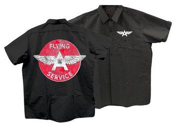FLYING A SERVICE WORKSHIRT BLACK