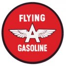 """FLYING A SERVICE HEAVY METAL SIGN 35"""""""