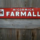 IHC MC CORMICK FARMALL PORCELAIN COATED SIGN