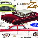 FORD ZEPHYR HEAVY METAL RECTANGLE SIGN