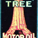BIG TREE MOTOR OIL HEAVY METAL RECTANGLE SIGN
