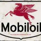 MOBILOIL HEAVY METAL RECTANGLE SIGN
