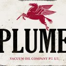 PLUME PEGASUS HEAVY METAL RECTANGLE SIGN