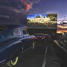 DRIVE IN THEATRE HEAVY METAL SIGN