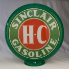 SINCLAIR HC GAS PUMP GLOBE GLASS LENSES gas oil filling station