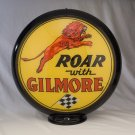 ROAR WITH GILMORE GAS PUMP GLOBE GLASS LENSES oil filling station DECOR