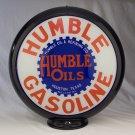 HUMBLE OILS GASOLINE GAS PUMP GLOBE GLASS LENSES oil filling station DECOR