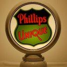 PHILLIPS 66 UNIQUE GAS PUMP GLOBE GLASS LENSES oil filling station DECOR