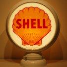 SHELL GAS PUMP GLOBE GLASS LENSES oil filling station DECOR