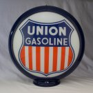 UNION GASOLINE GAS PUMP GLOBE GLASS LENSES oil filling station DECOR