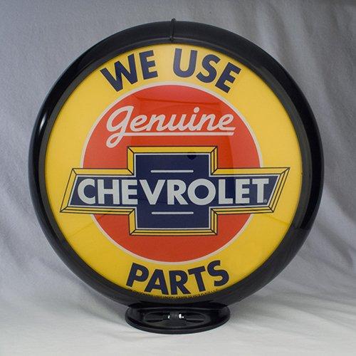 GENUINE CHEVROLET PARTS GAS PUMP GLOBE GLASS LENSES oil filling station DECOR