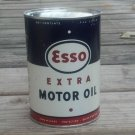 ESSO EXTRA MOTOR OIL METAL CAN 32 FL. OZ