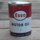 ESSO MOTOR OIL METAL CAN 32 FL. OZ