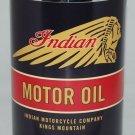 INDIAN MOTORCYCLE BLACK METAL OIL CAN 32 FL. OZ.