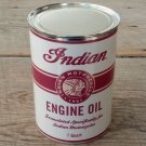 INDIAN ENGINE OIL EMPTY OIL CAN