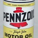 PENNZOIL NEW EMPTY METAL OIL CAN 32 FL. OZ