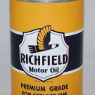 Richfield Yellow 32 Fluid Oz. Metal Oil Can