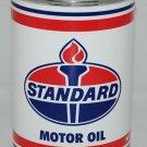 STANDARD MOTOR OIL METAL CAN 32 FL. OZ