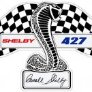 SHELBY 427 LOGO HEAVY STEEL DIECUT SIGN 29""