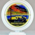 Richfield Mini Gas Pump Globe lighted BLACK BODY Gasoline Sign