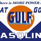 THAT GOOD GULF GASOLINE Metal Sign
