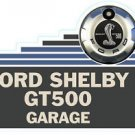 "Shelby GT 500 Sign 32"" Heavy Steel Sign Cabin Lodge Man Cave Garage Shop Decor"