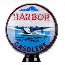 "Harbor Gasolene Gas Pump Globe 15"""