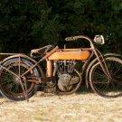 Old Flying Merkel Motorcycle Heavy Metal Sign 11x17