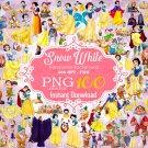 Snow White Clipart, Snow White png, Disney Clipart, Princess Clipart, Dwarfs Clipart