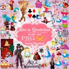 Alice in Wonderland Clipart, Alice in Wonderland png, Disney Clipart