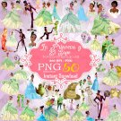 The Princess and the Frog Clipart, The Princess and the Frog png, Disney Clipart, Princess Clipart