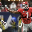 * D'ANDRE SWIFT SIGNED PHOTO 8X10 RP AUTOGRAPHED GEORGIA BULLDOGS FOOTBALL