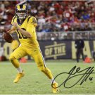 JARED GOFF SIGNED PHOTO 8X10 RP AUTOGRAPHED LOS ANGELES RAMS *
