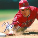 MIKE TROUT SIGNED PHOTO 8X10 RP AUTOGRAPHED LOS ANGELES ANGELS