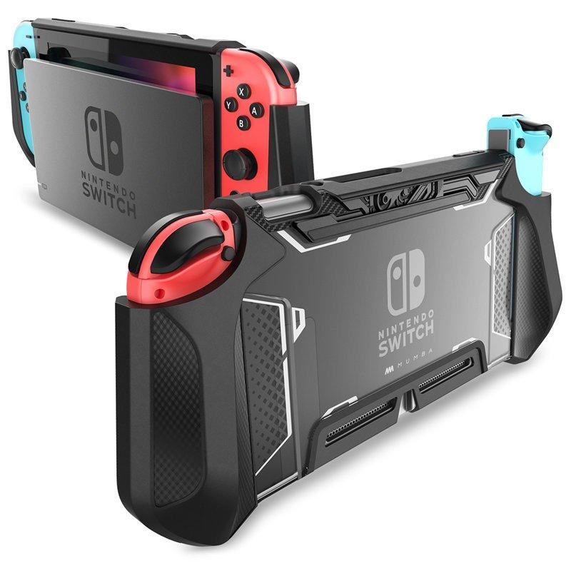 Nintendo Switch Joy-Con Controller Mumba Dockable Case Grip Protective Cover