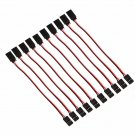 50 x 15cm 60 Cores Servo Extension Wire Cable For Futaba JR